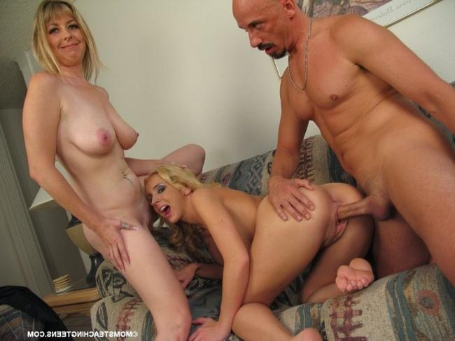 2е зрелых на один хуй порнофото